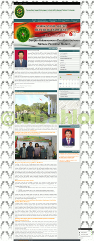 Website Pengadilan Negeri Pontianak