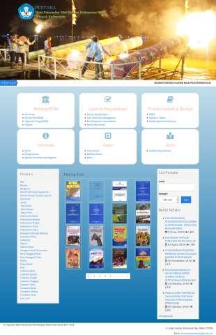 Website Balai Pelestarian Nilai Budaya Kalimantan Barat